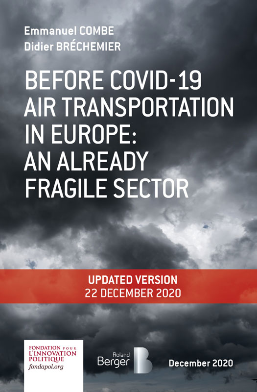 Before Covid-19, air transportation in Europe: an already fragile sector
